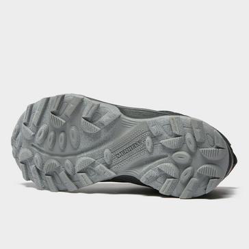 Black Merrell Kids' Moab Speed Waterproof Shoe