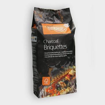 Black BAR BE QUICK BBQ Briquettes 10KG