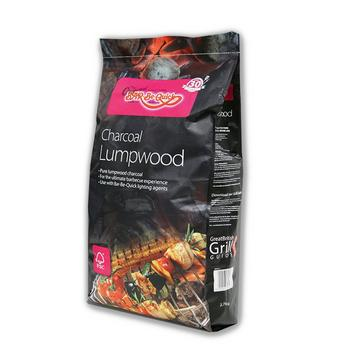 Black BAR BE QUICK Lumpwood Charcoal 2.7kg