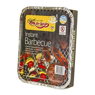 Black BAR BE QUICK Disposable Instant BBQ