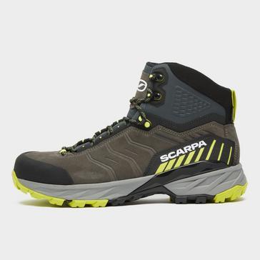 Brown Scarpa Men's Rush Trek Gore-Tex Hiking Boot