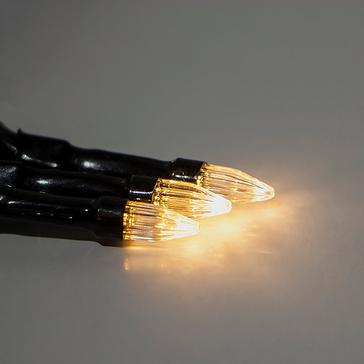 Black HI-GEAR Solar LED String Lights (100)