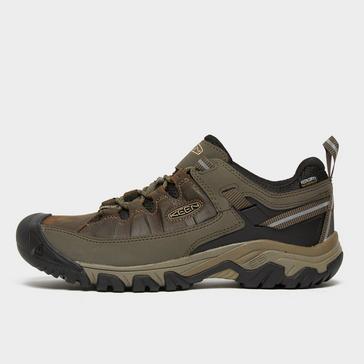 Brown Keen Men's Targhee III Waterproof Shoe