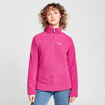 Pink Craghoppers Women's Ambra Half-Zip Fleece