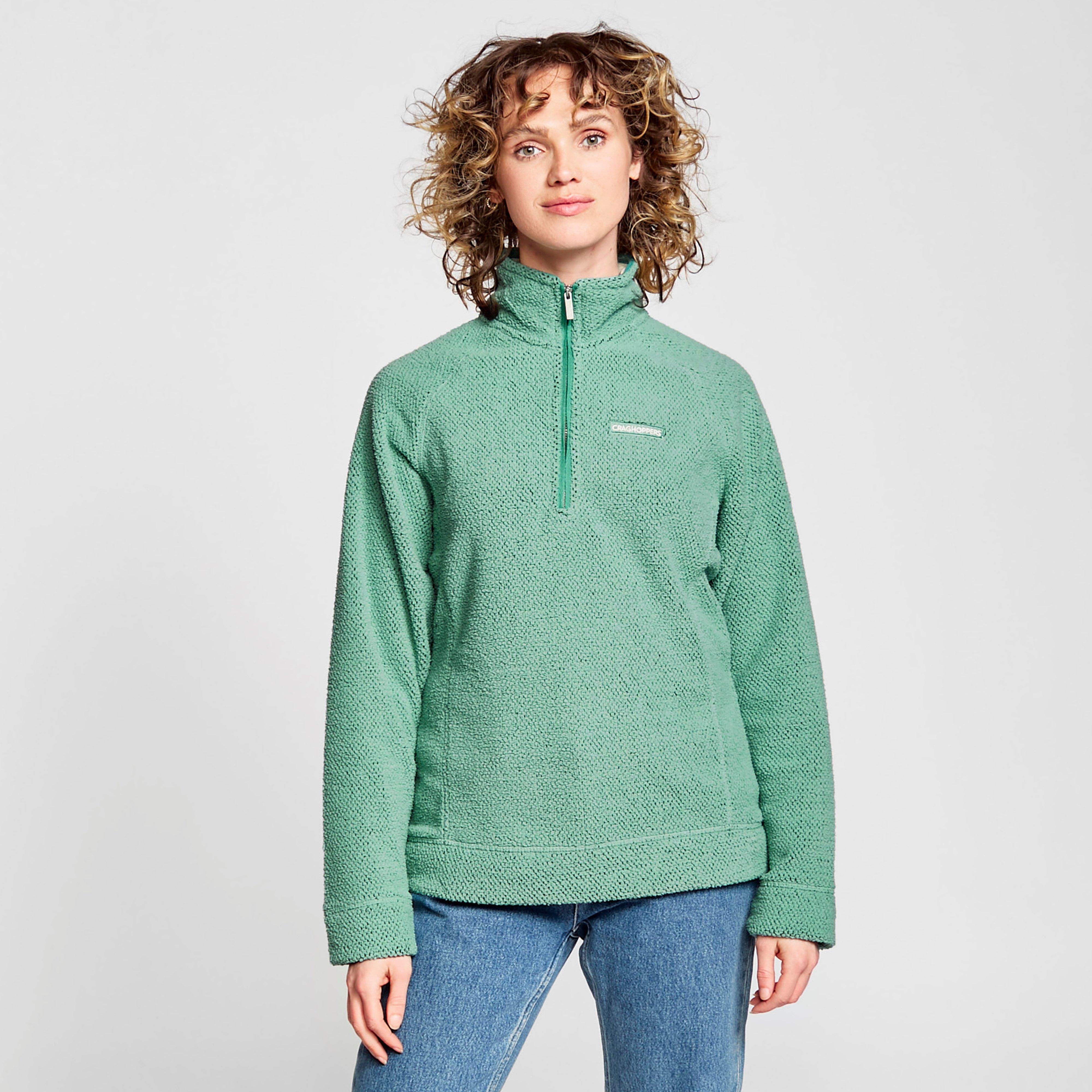 Craghoppers Women's Ambra Half-Zip Fleece - Green/Lgn, Green