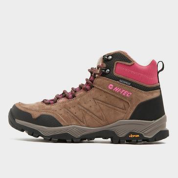 Brown Hi Tec Women's Endeavour Walking Boot