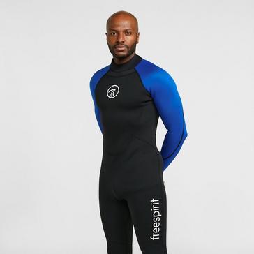 Black Freespirit Men's FL Wetsuit