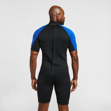 Blue Freespirit Men's Short Wetsuit