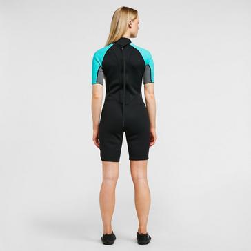 Black Freespirit Women's Short Wetsuit