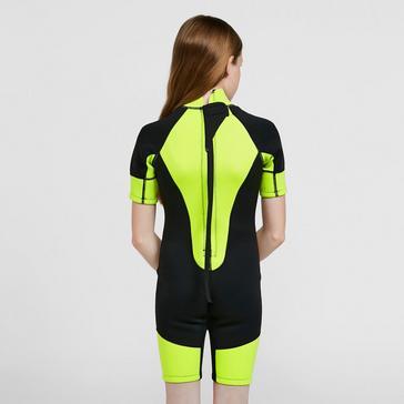 Black Freespirit Kids' Short Wetsuit