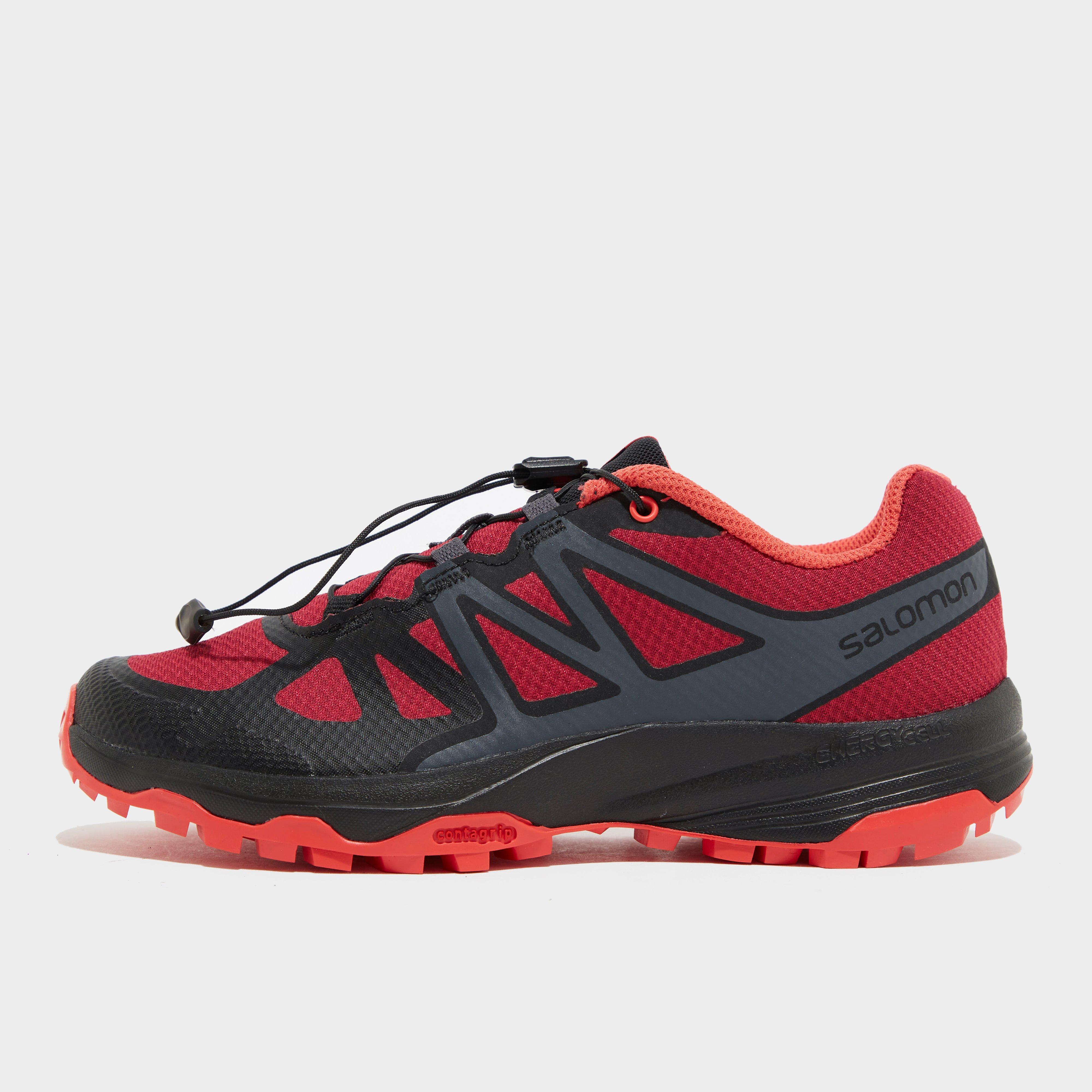 Salomon Women's Xa Oribi Trail Running Shoe - Red/Red, Red