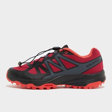 RED Salomon Women's XA Oribi Trail Running Shoe