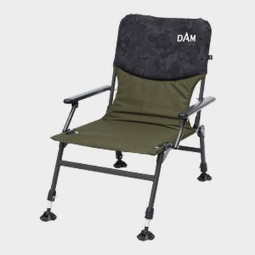 Camouflage Dam CamoVision Compact Chair with Armrests