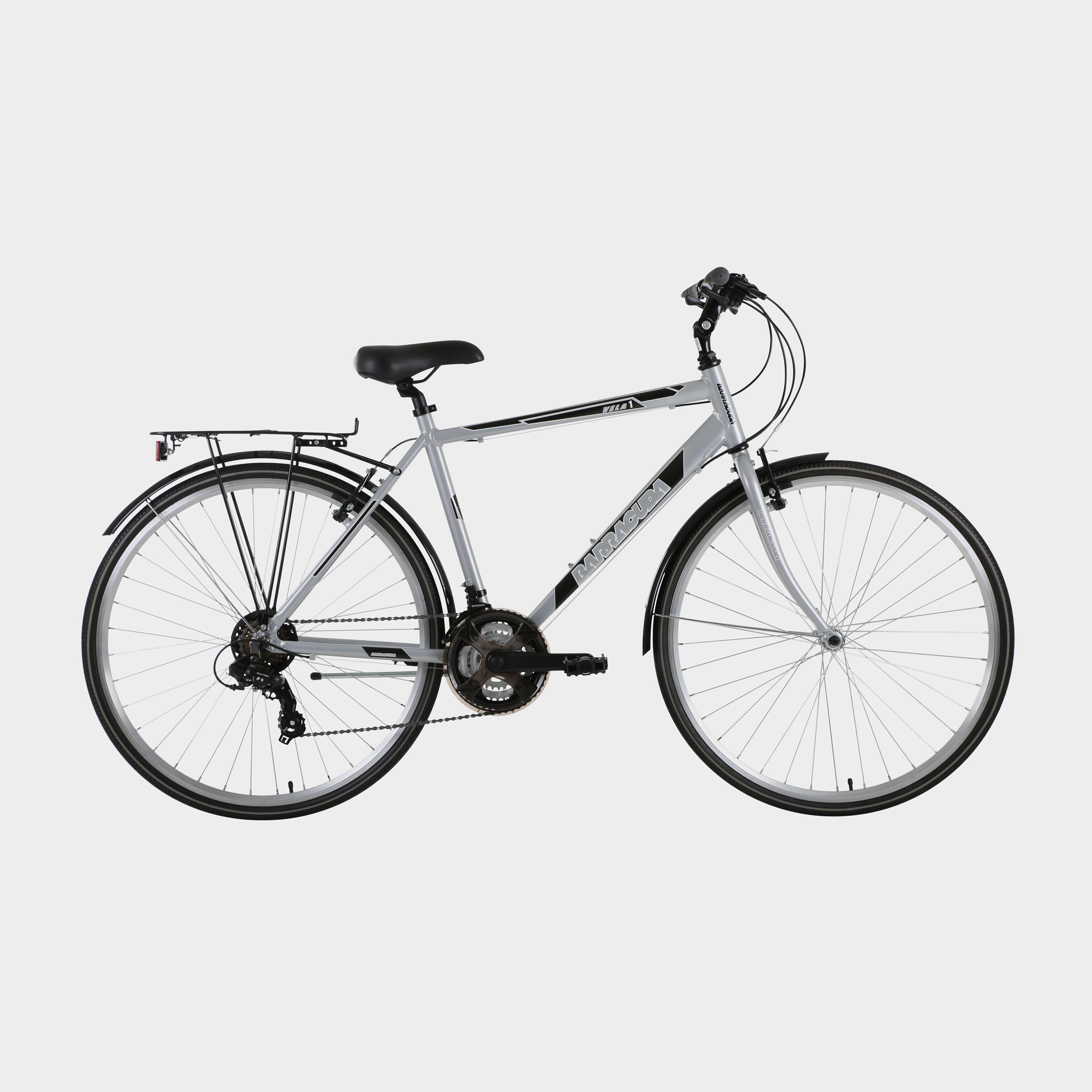 "Barracuda Men's Vela 2 21"" Trekking Bike - Silver/Silver, Silver"
