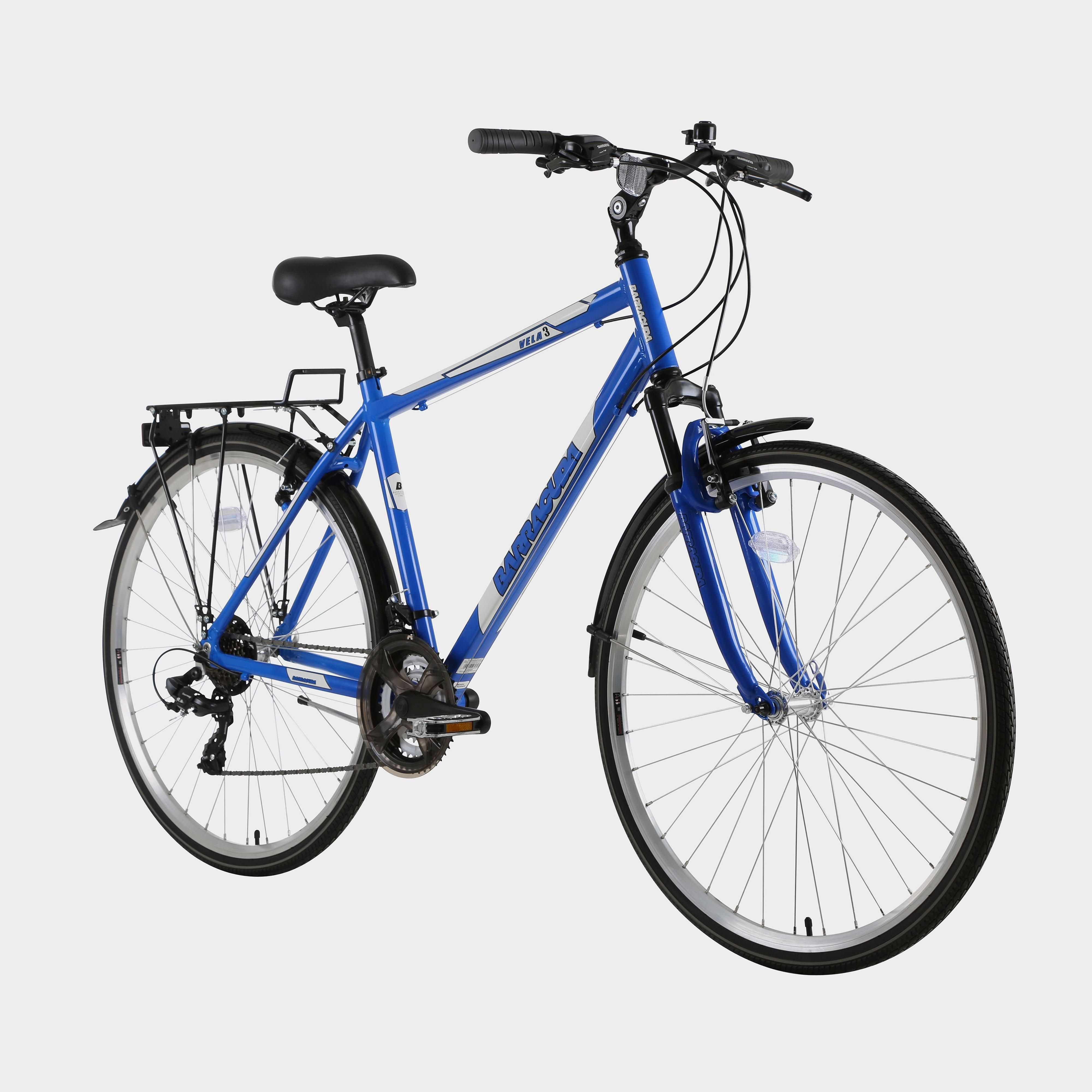 """Barracuda Men's Vela 3 21"""" Trekking Bike - Blue/Blue, Blue"""