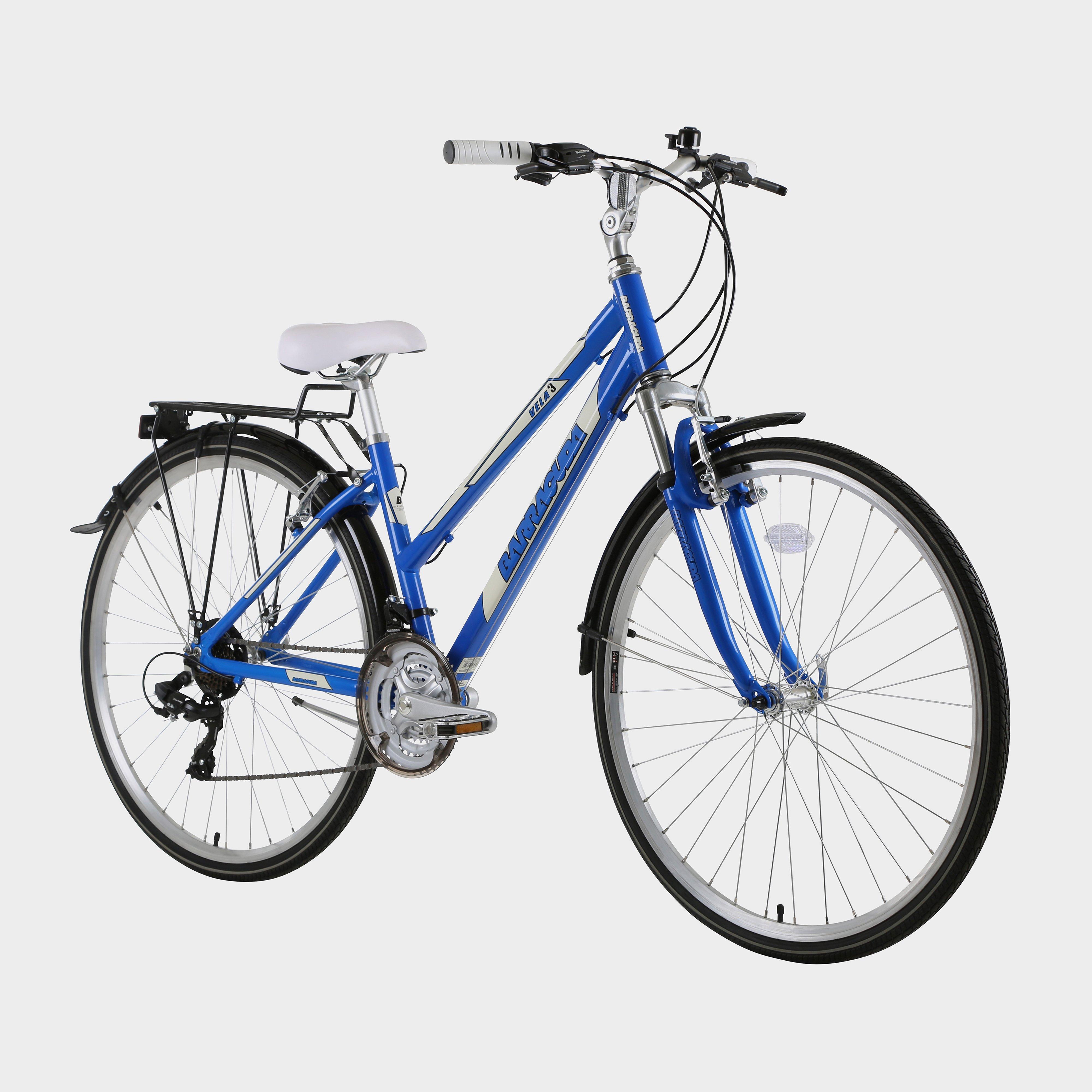 "Barracuda Women's Vela 3 17"" Trekking Bike - Blue/Blue, Blue"