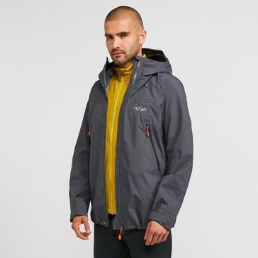 Grey Rab Men's Kangri GTX Waterproof Jacket
