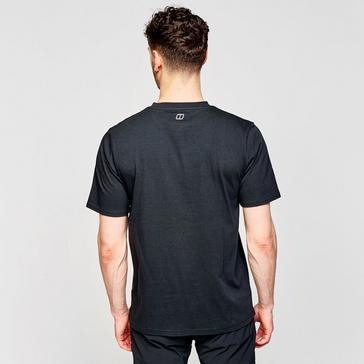 Black Berghaus Men's Mountain Valley T-Shirt