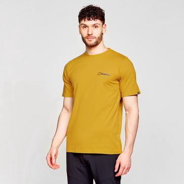 Yellow Berghaus Men's Colour Logo Tee