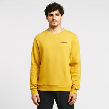 Yellow Berghaus Men's Logo T-Shirt