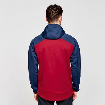 RED Berghaus Men's Gyber Fleece Jacket