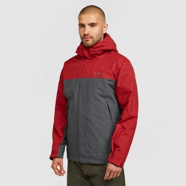 Red Berghaus Men's Stormcloud Prime 3-in-1 Waterproof Jacket
