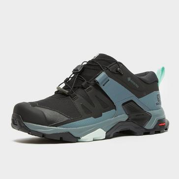 Black Salomon Women's Ultra 4 Gore-Tex Hiking Shoe