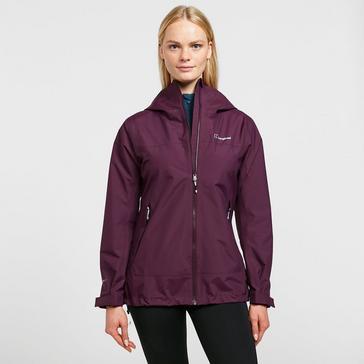Purple Berghaus Women's Stormcloud Prime Waterproof Jacket