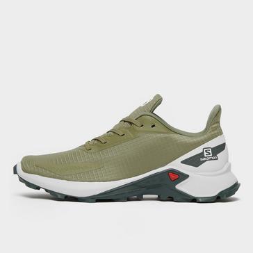 Green Salomon Men's Alphacross Blast Trail Running Shoe