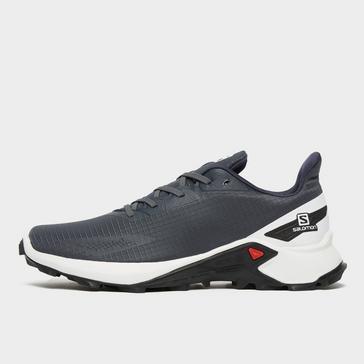 Grey Salomon Women's Alphacross Blast Trail Running Shoe