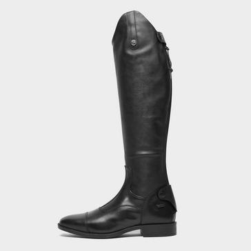 Black BROGINI Women's Casperia V2 Long-plain Riding Boots