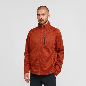 Orange Craghoppers Men's Cranston Full-Zip Fleece
