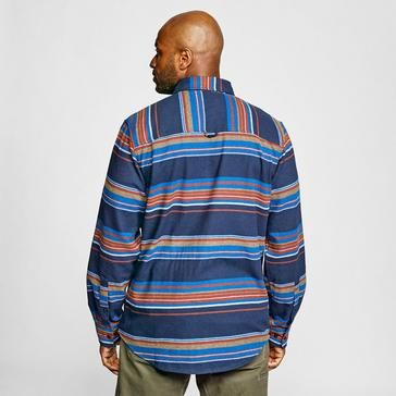 Blue Craghoppers Men's Ziggy Long Sleeve Shirt