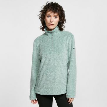 Green Regatta Women's Taryn Half Zip Fleece