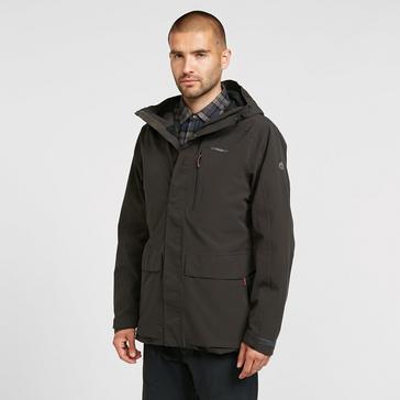 Black Craghoppers Men's Lorton Waterproof Jacket