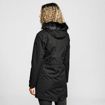 Black Regatta Women's Serleena II Waterproof Insulated Parka Jacket