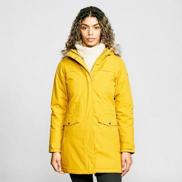 Yellow Regatta Women's Serleena II Waterproof Insulated Parka Jacket