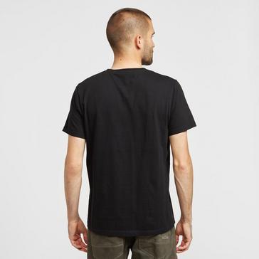 Black Weird Fish Men's Carp Side T-shirt