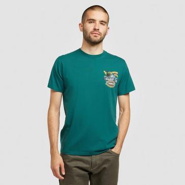 BLUE Weird Fish Men's Motorpikes T-shirt