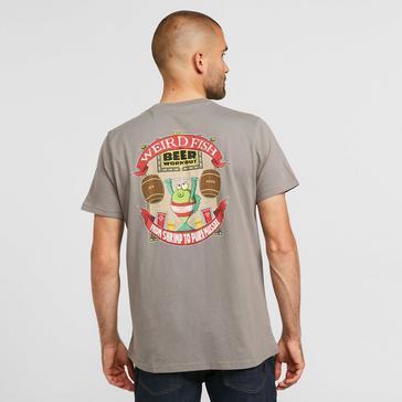 Grey Weird Fish Men's Pure Mussel T-Shirt