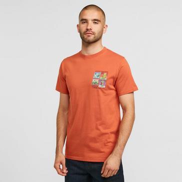 Orange Weird Fish Men's Tarentuna T-shirt