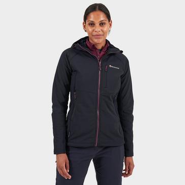 Black Montane Women's Krypton Softshell Jacket