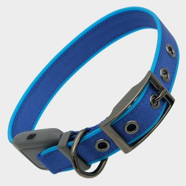 BLUE Niteize Nitedog Rechargeable Collar Medium