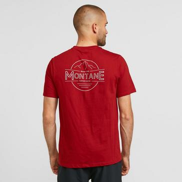 Red Montane Men's Trace T-Shirt