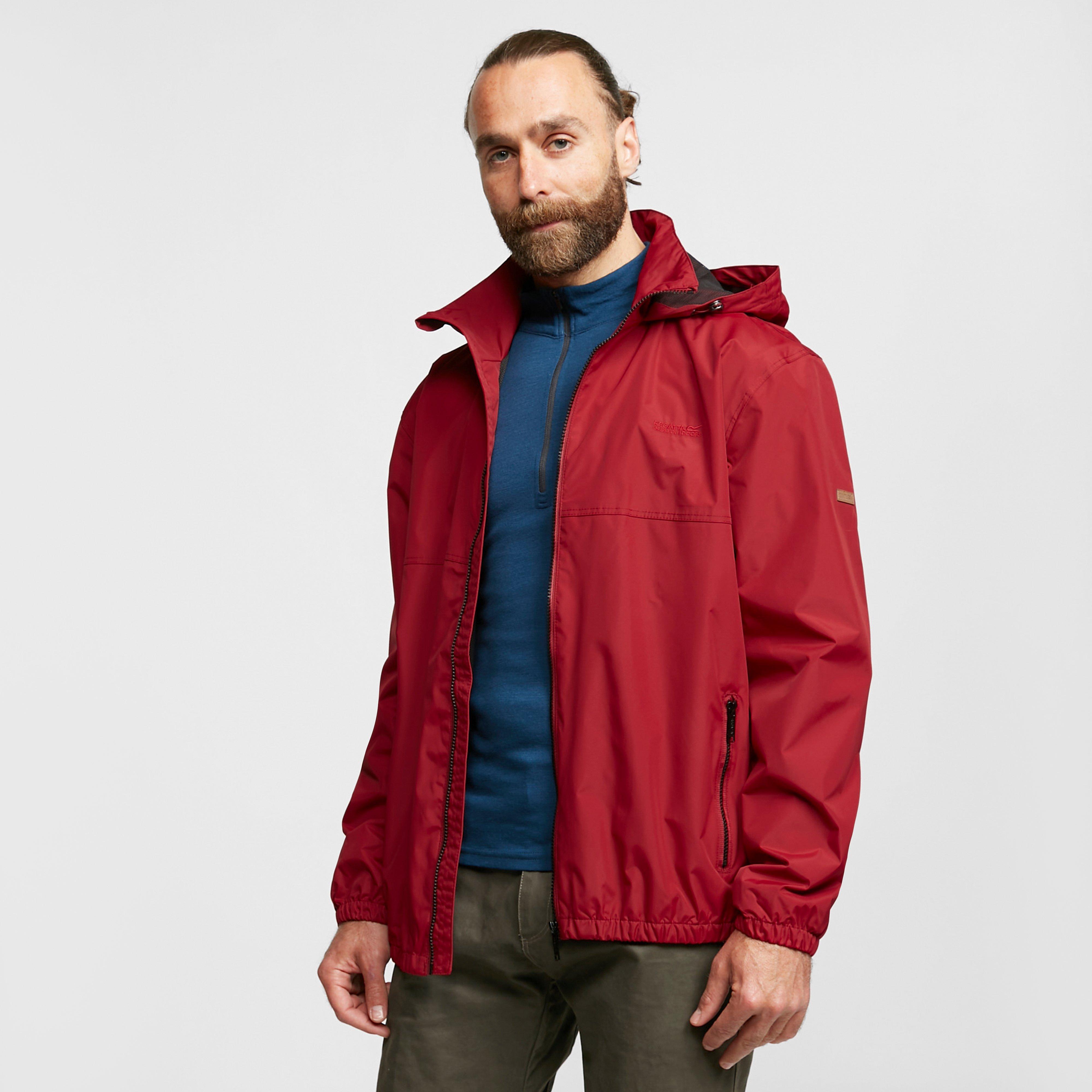 Regatta Men's Ladomir Waterproof Bomber Jacket - Red/Red, Red