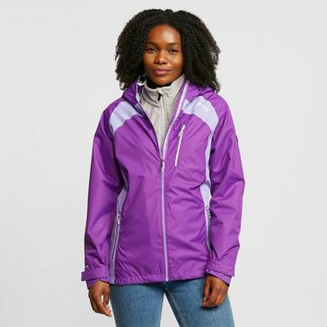 Purple Regatta Women's Highton Stretch II Waterproof Jacket