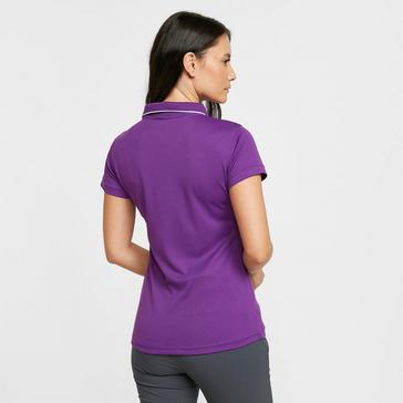 Purple Regatta Women's Maverick V Active Polo Shirt
