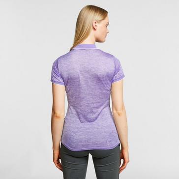 Purple Regatta Women's Remex II Polo Shirt