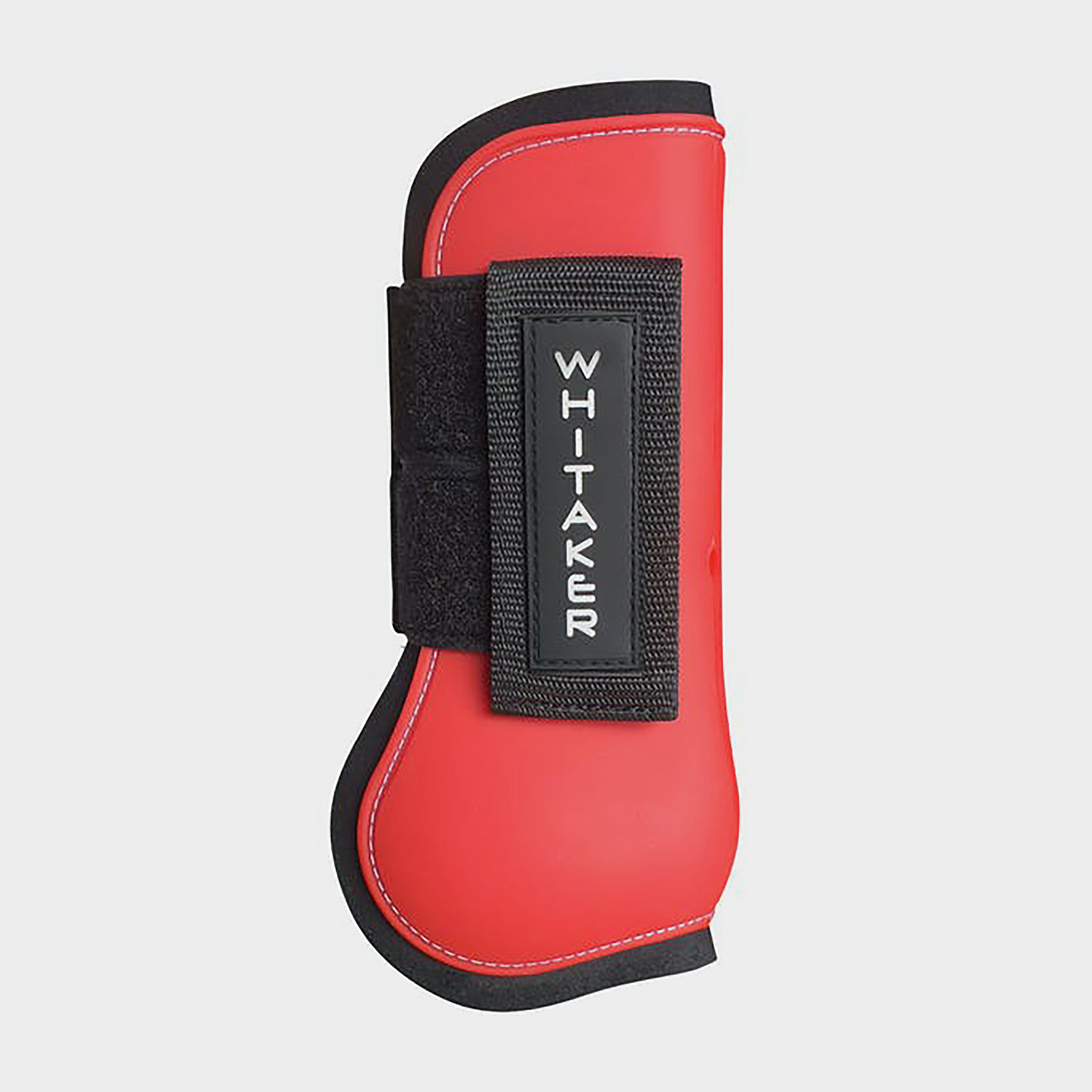 Image of Whitaker Tendon & Fetlock Boot Set - Red/Red, RED/RED