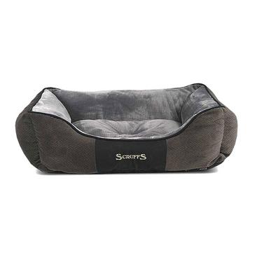 Grey SCRUFFS Chester Dog Bed Large